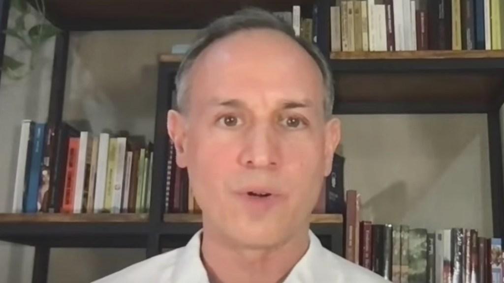 Hugo López-Gatell se reincorpora de manera virtual a conferencia vespertina - Captura de pantalla
