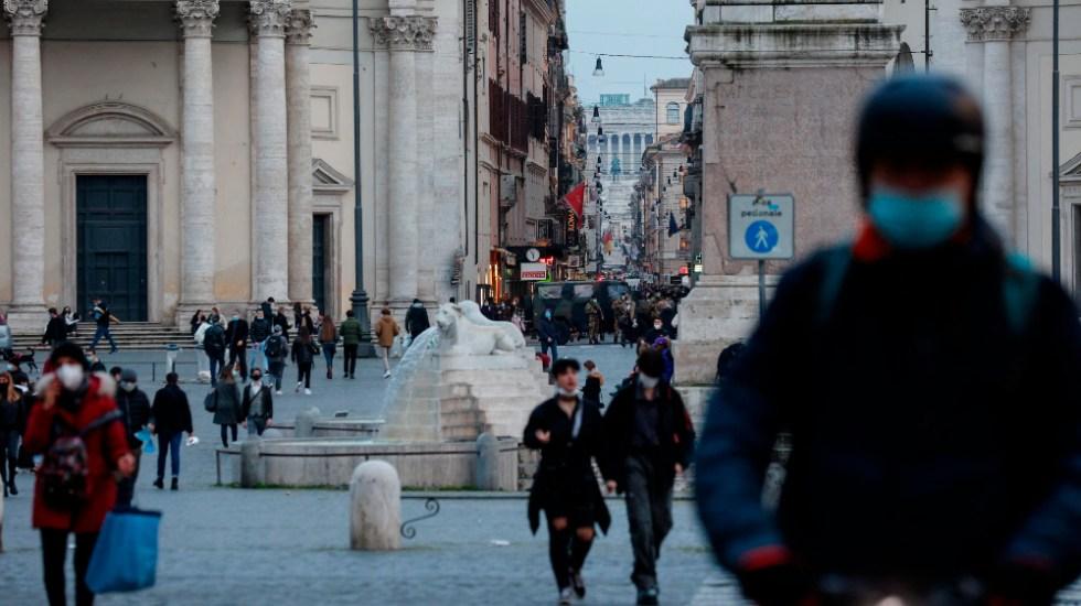Italia decreta el confinamiento de tres días en Semana Santa - Foto de EFE
