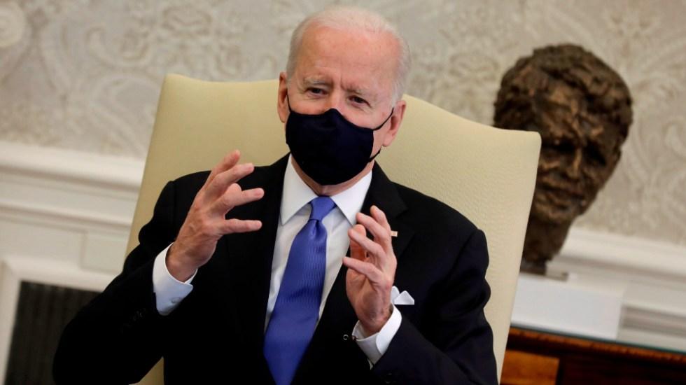 Biden, afligido por el ataque contra policías que custodiaban el Capitolio - Joe Biden