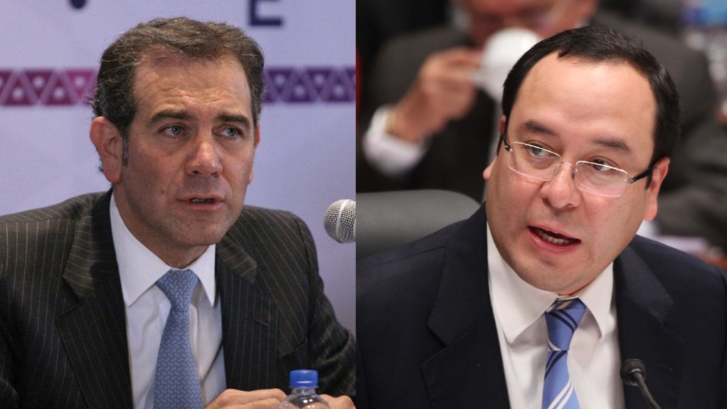 Félix Salgado advierte juicio político contra Lorenzo Córdova y Ciro Murayama - Lorenzo Córdova y Ciro Murayama