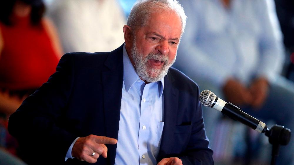 """AMLO celebra anulación de sentencias a Lula en Brasil; """"enfrentó toda una campaña en su contra"""", asegura - Foto de EFE"""
