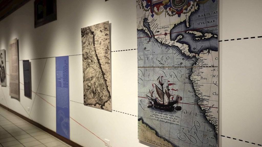 España y Costa Rica inauguran exposición sobre la travesía de Magallanes y Elcano - Vista de la exposición