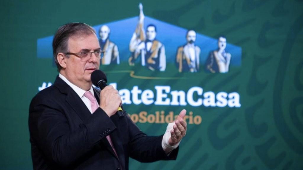 Marcelo Ebrard anuncia gira por cuatro países para avanzar en acceso a vacunas - Marcelo Ebrard