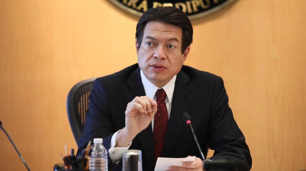 Mario Delgado arremete contra INE por medida cautelar a AMLO - Mario Delgado. Foto de @mariodelgadocarrillo (Archivo)