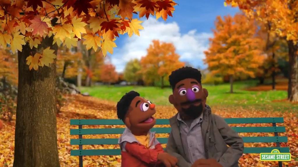 'Plaza Sésamo' tendrá nuevos personajes para abordar el racismo - Marionetas de color en Plaza Sésamo para abordar el racismo. Captura de pantalla