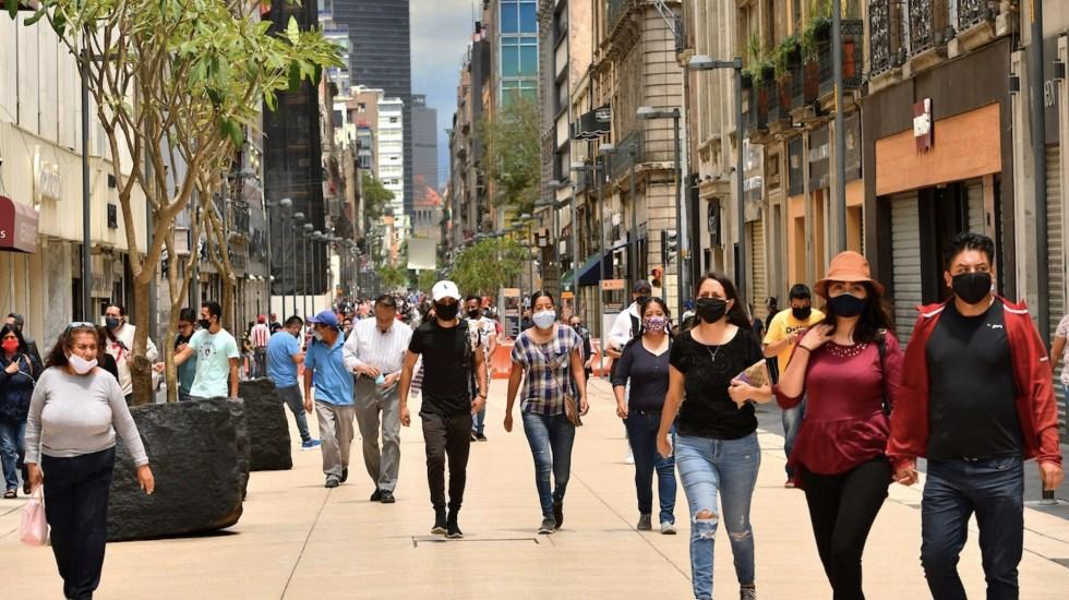 México mantiene disminución en casos de COVID-19, reconoce Estados Unidos - México super las 200 mil muertes por COVID-19. Foto de EFE