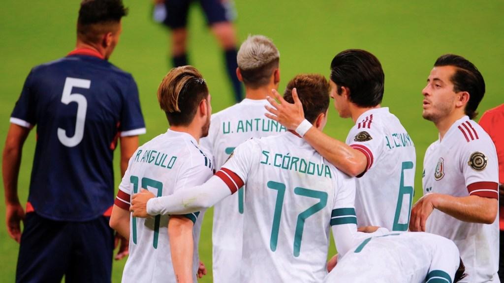 México vence a República Dominicana con triplete de Córdova - Foto de EFE