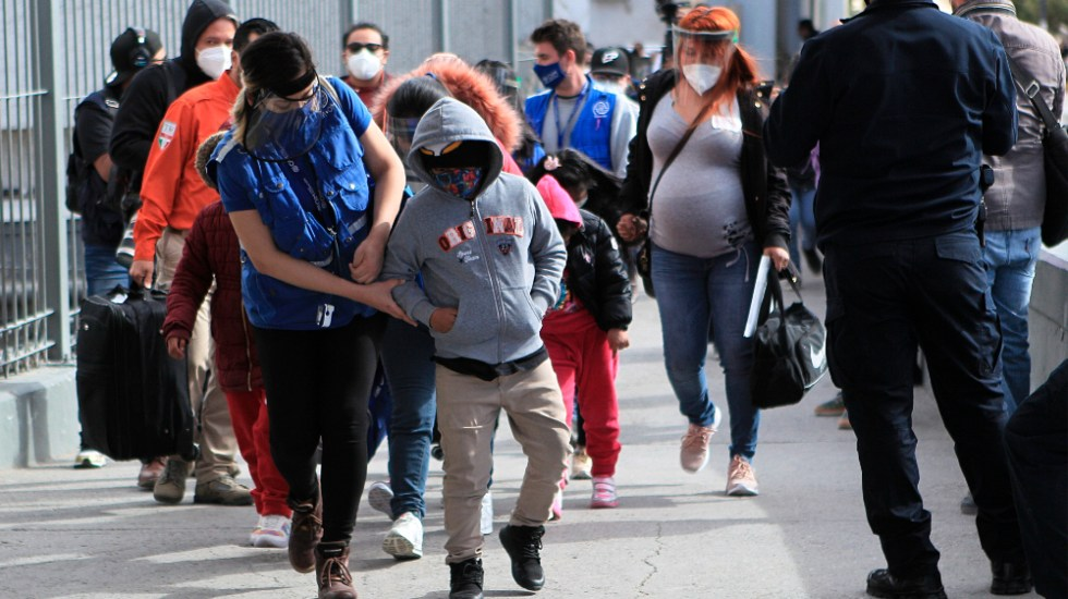 """Estados Unidos se compromete a reunificar familias migrantes """"lo más rápido"""" posible - Migrantes en EE.UU. Foto de EFE"""