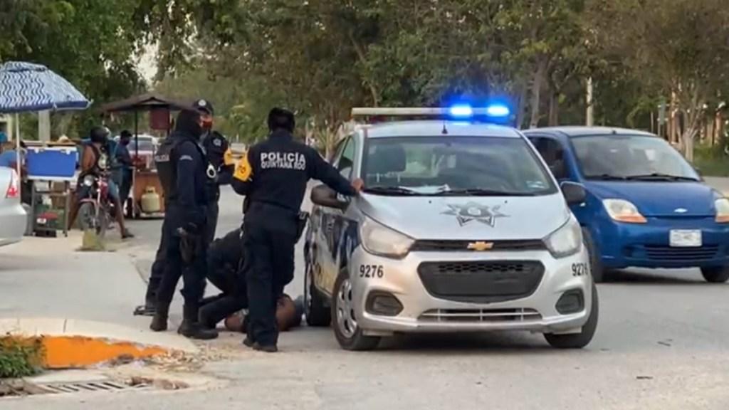 Policías no debieron someter a mujer salvadoreña: fiscal de Quintana Roo - mujer salvadoreña policías Tulum Quintana Roo