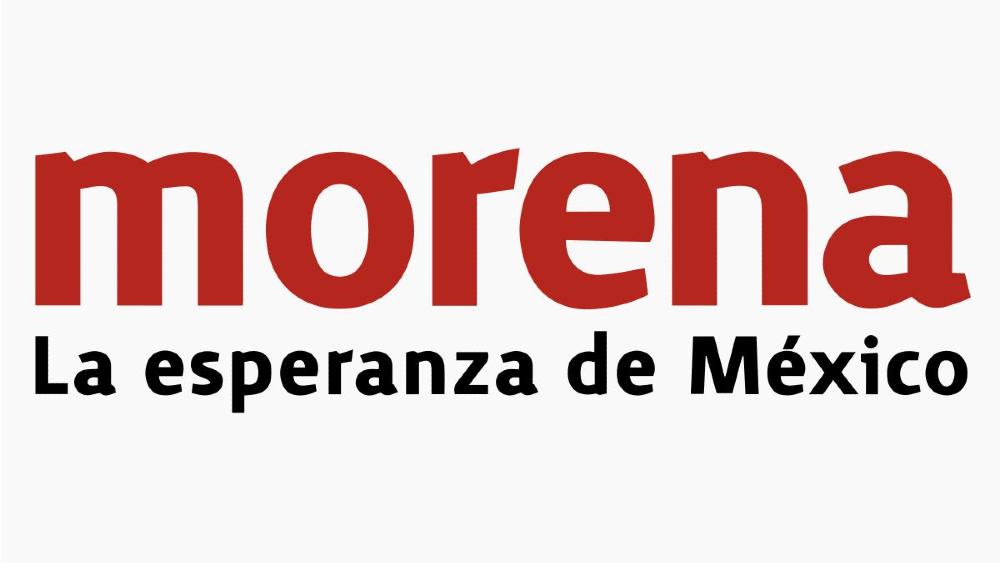 Morena interpone denuncias contra tres candidatos a gobernador - Morena logo
