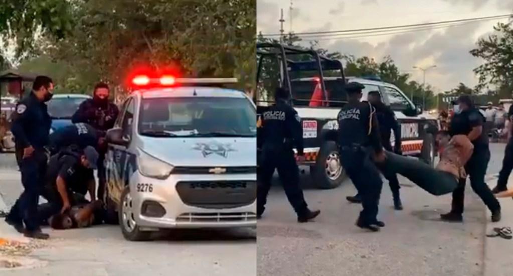 Separan a policías que mataron a mujer en Tulum; están bajo investigación - Tulum salvadoreña policías Tulum