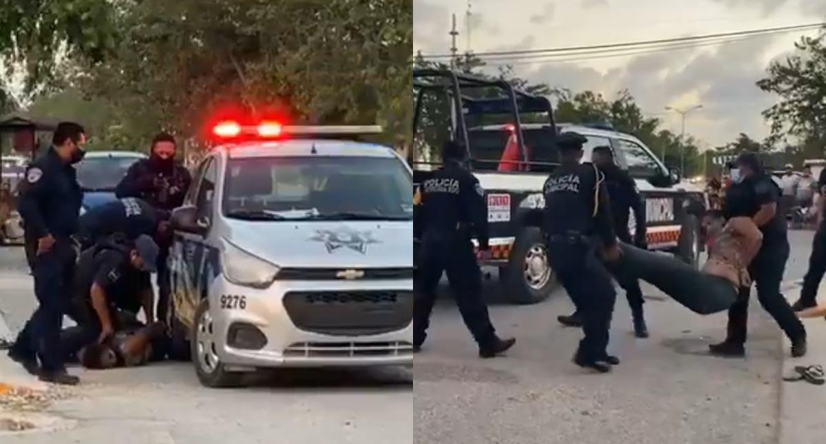 Tulum salvadoreña policías Tulum