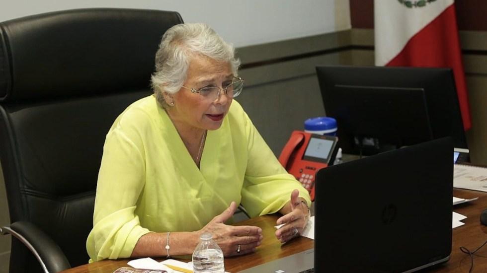 Mayor riesgo en la elección es el crimen organizado, reconoce Sánchez Cordero - Olga Sánchez Cordero Crimen organizado