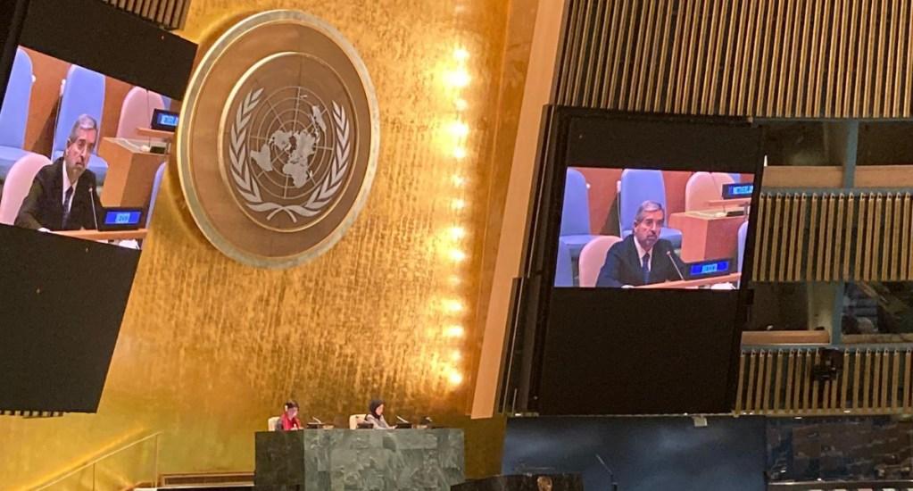 Pide embajador De la Fuente diálogo para alcanzar reforma integral del Consejo de Seguridad de la ONU - ONU México Juan Ramón de la Fuente