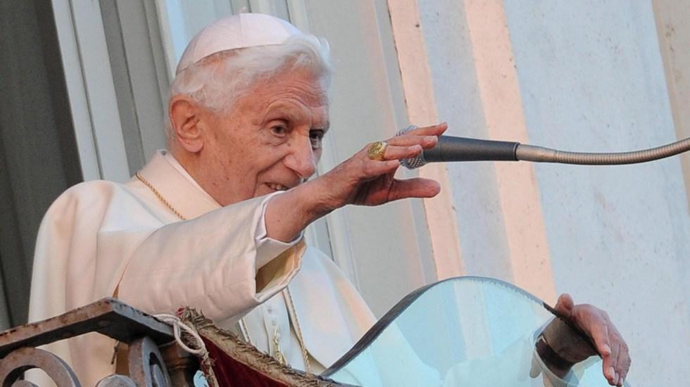 """Benedicto XVI se sincera sobre su renuncia; """"creo que lo hice bien"""", afirma - El papa emérito Benedicto XVI. Foto de EFE"""