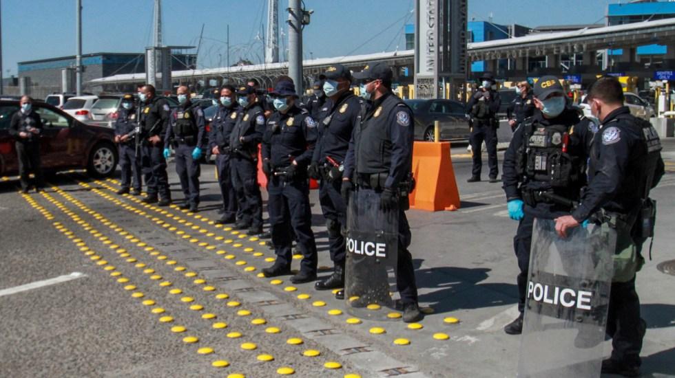 Enviado de Biden niega nuevos acuerdos de seguridad fronteriza con México - Patrulla Fronteriza de EE.UU. resguarda frontera con México. Foto de EFE / Archivo