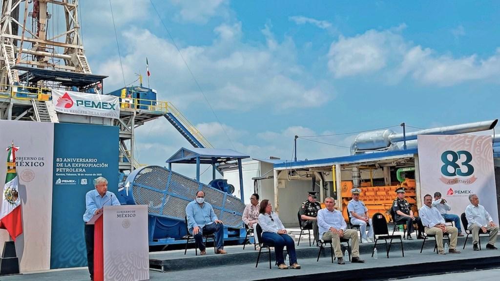 "México localiza ""gigante"" campo petrolero en Tabasco - Foto de EFE"