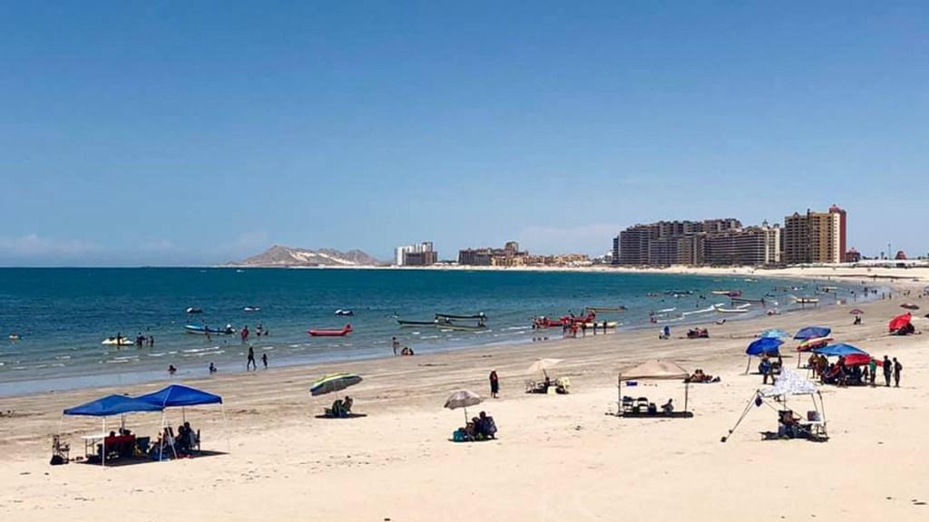 Sonora pedirá prueba negativa de COVID-19 para ingresar a playas - Playa de Sonora. Foto de @VisitSonora