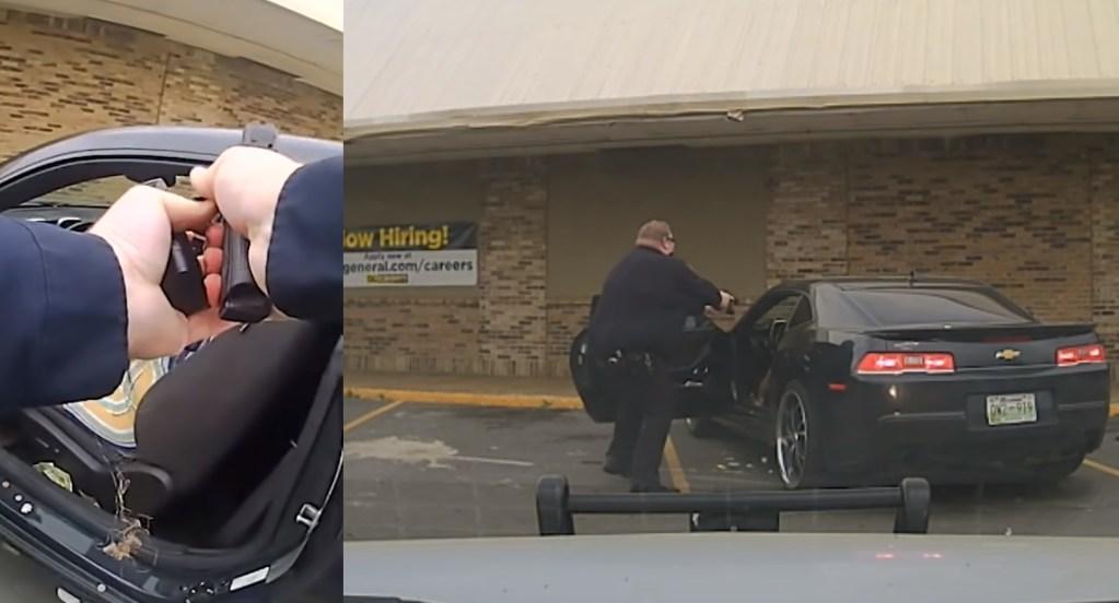 #Video Policía mata a mujer armada en Nashville; agente resulta gravemente herido - Policía Nashville disparos mujer ataque