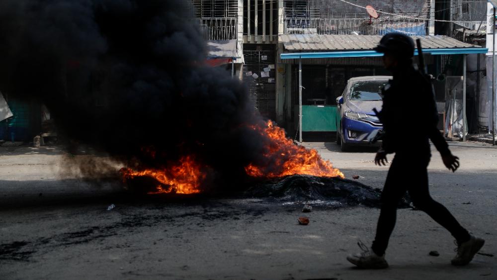 Los muertos por la violencia militar superan ya los 400 en Birmania - Foto de EFE