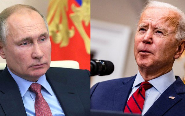 Joe Biden y Vladimir Putin celebrarán primera reunión en Suiza - Vladimir Putin y Joe Biden. Foto de @KremlinRussia / EFE