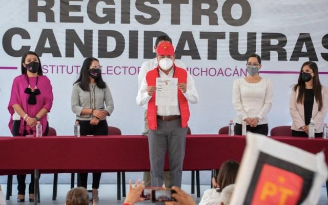 INE cancela candidatura a gubernatura de Michoacán a aspirante de Morena - Raúl Morón, aspirante a la gubernatura de Michoacán. Foto de Twitter Raúl Morón