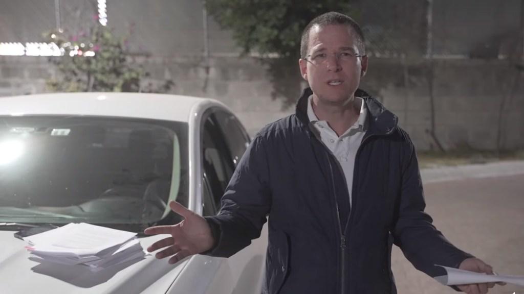 #Video Ricardo Anaya advierte 'plan perverso' de AMLO para destituir a titular de la ASF - Ricardo Anaya. Captura de pantalla