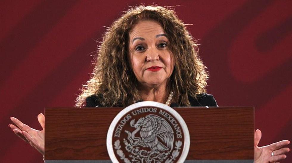 Informe del Departamento de Estado de EE.UU. se basa en mentiras, afirma Sanjuana Martínez - Sanjuana Martínez, directora de Notimex. Foto de EFE