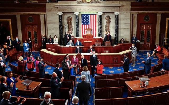 Senado de Estados Unidos en la recta final para aprobar plan de rescate de Joe Biden - Foto de EFE