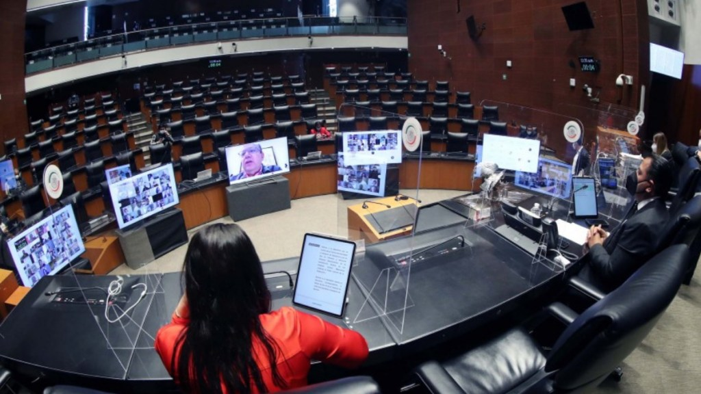 Tamaulipas Sesión a distancia del Senado de la República