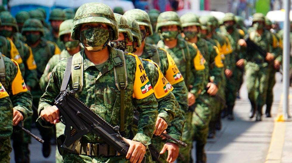 Admite Sedena 'reacción errónea' de militar en muerte de guatemalteco - La Sedena admitió 'reacción errónea' de militar en muerte de guatemalteco en Chiapas. Foto de archivo EFE.