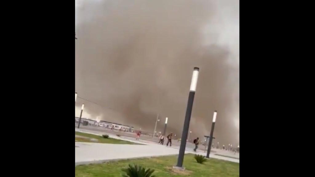 #Video Tolvarena en Santa Lucía provoca desalojo; Sedena asegura que no hubo daños - Tolvarena Santa Lucía