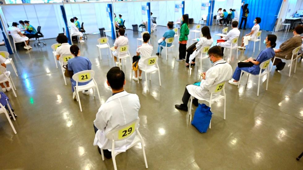 Cerca de 65 millones de chinos ya han recibido la vacuna contra COVID-19 - Foto de EFE