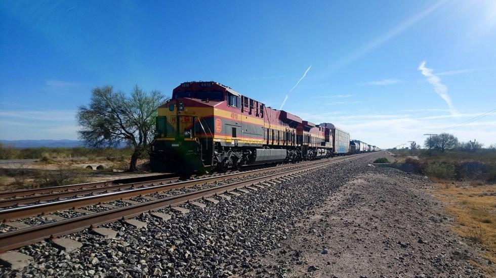 Ferrocarril conectará México con Estados Unidos y Canadá - Vía ferroviaria en México. Foto de Ferrocarriles Federales de México
