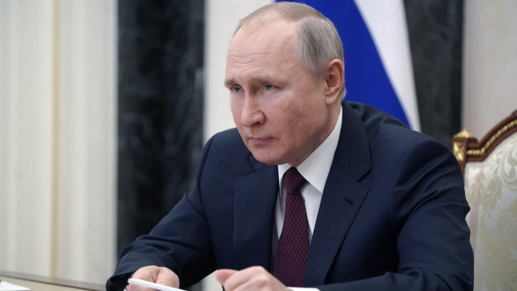 Rusia quiere mantener relaciones con Estados Unidos, pero no ignorará las palabras de Biden - Vladimir Putin. Foto de @KremlinRussia