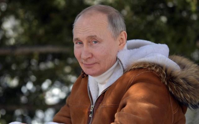 Putin recibe primera dosis de la vacuna Sputnik V contra COVID-19 - Vladimir Putin, presidente de Rusia. Foto de EFE