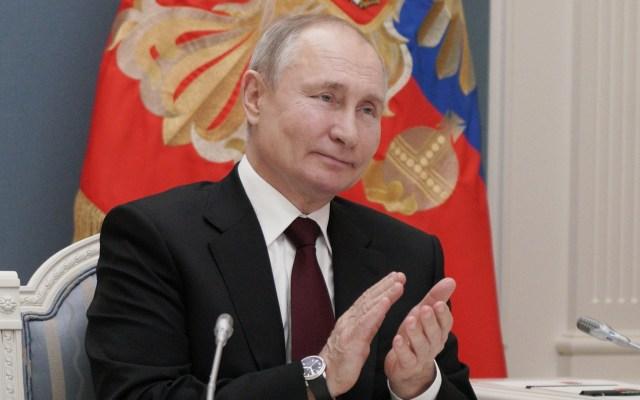 Vladimir Putin desea 'buena salud' a Joe Biden, quien lo calificó de 'asesino' - Vladimir Putin. Foto de EFE