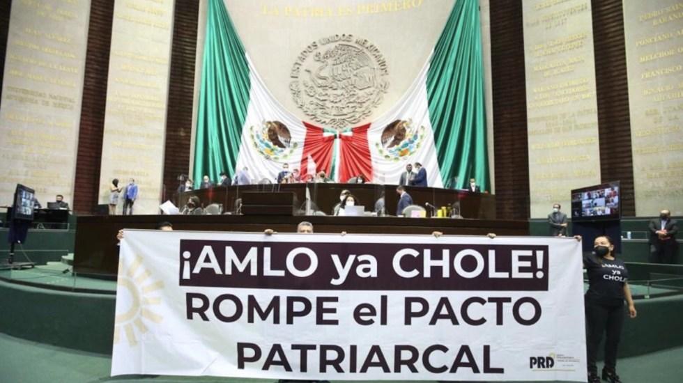 AMLO y Morena deberían dejar de proteger a Salgado Macedonio, reclaman en San Lázaro - Foto de Twitter Verónica Juárez