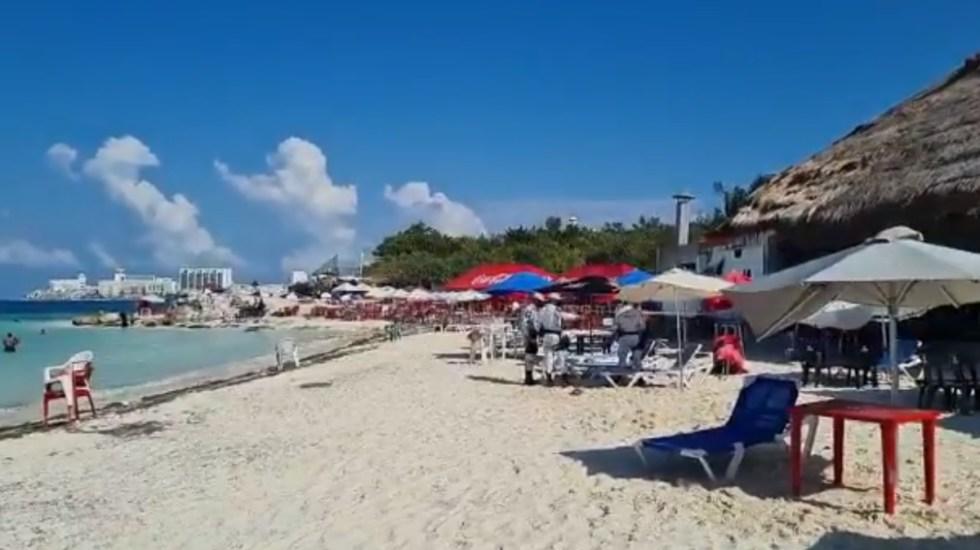 Ataque en plena zona hotelera de Cancún deja al menos un muerto; hay tres detenidos - Zona Hotelera cancún Quintana Roo ataque