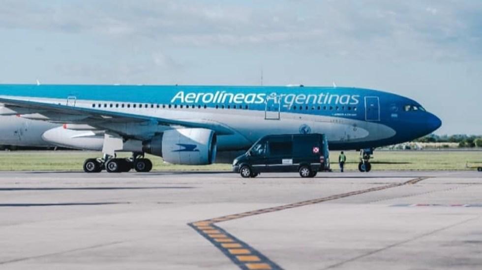 Aerolíneas Argentinas suspende vuelos a Cancún por COVID-19 - Aerolíneas Argentinas vuelos línea aérea