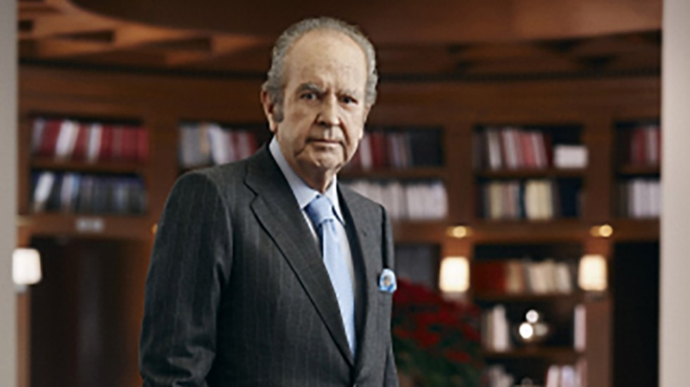 Alberto Baillères deja Consejo de Administración de Grupo BAL - Alberto Baillères. Foto de ITAM