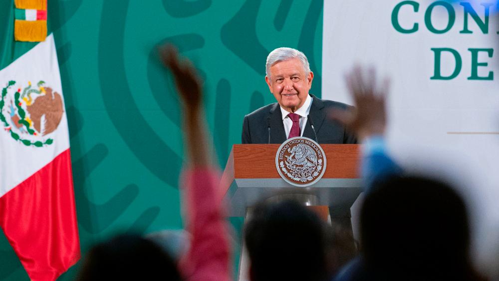 Conferencia matutina López Obrador 28 de abril - AMLO Lopez Obrador conferencia (1)