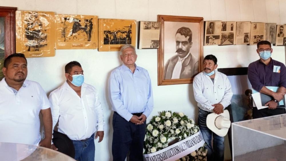 López Obrador enumera programas sociales pese a campañas electorales - AMLO Lopez Obrador Zapata Puebla