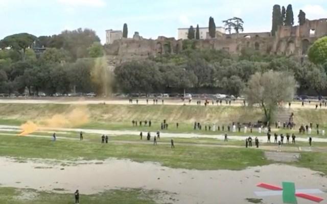Así fue el aniversario de la fundación de Roma - Aniversario de la fundación de Roma. Foto de EFE