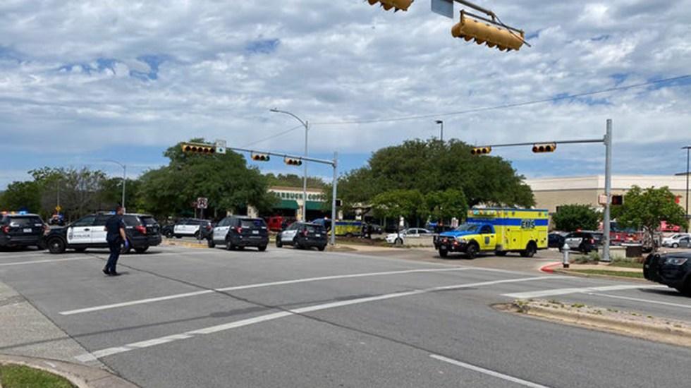 Nuevo tiroteo en EE.UU., ahora en Austin, deja tres muertos - Área de tiroteo en Austin, Texas. Foto de USA Today