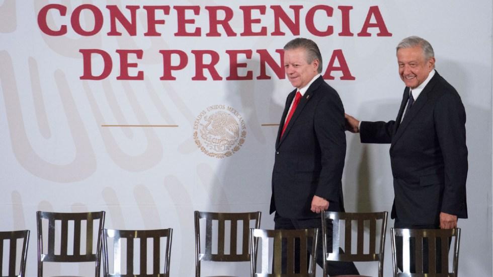 Ampliación de mandato de Arturo Zaldívar no es reelección, insiste AMLO - Arturo Zaldivar AMLO Lopez Obrador