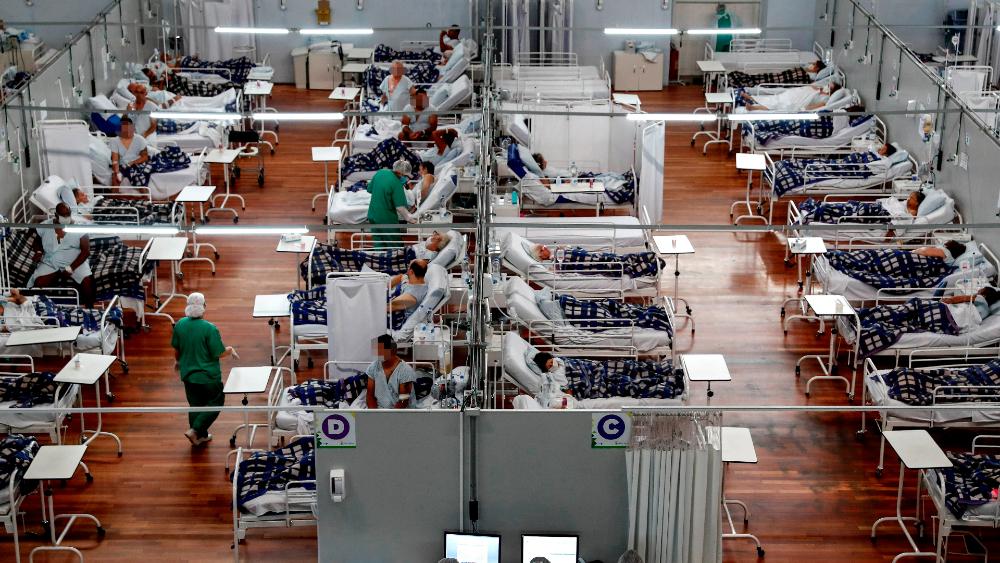 Brasil coronavirus covid19 hospital variantes casos globales
