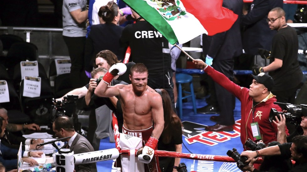 'Canelo' Álvarez encabeza peleas de mexicanos por títulos mundiales - Saúl 'Canelo' Álvarez. Foto de EFE