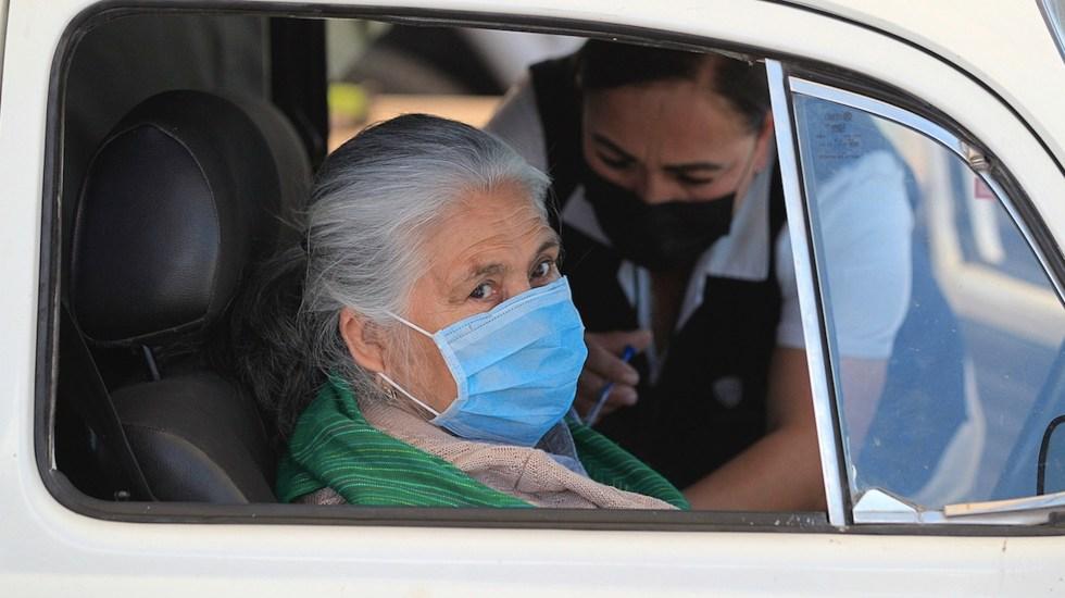 México registró en las últimas 24 horas 592 muertes y 4 mil 293 casos de COVID-19 - Casos de COVID-19 en México. Foto de EFE