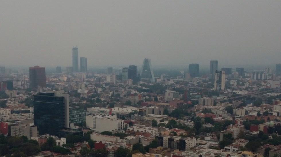 Mantienen medidas por altas concentraciones de ozono en el Valle de México - Mantienen medidas por altas concentraciones de ozono en el Valle de México.Foto de EFE